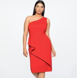 NWOT Jason Wu x Eloquii Red Cocktail Dress